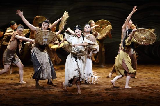 大型舞剧《问道崆峒》在甘肃黄河剧院举办第二场审核演出